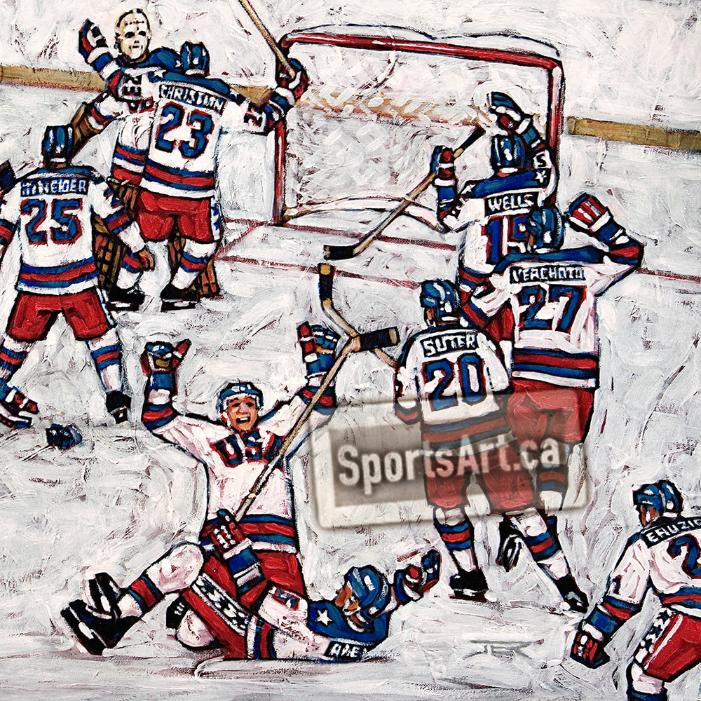 miracle on ice The penguins are challenged by the sewer rats to a game of ice hockey when they lose, they must enlist the lemurs' help to win their home back the sewer rats.