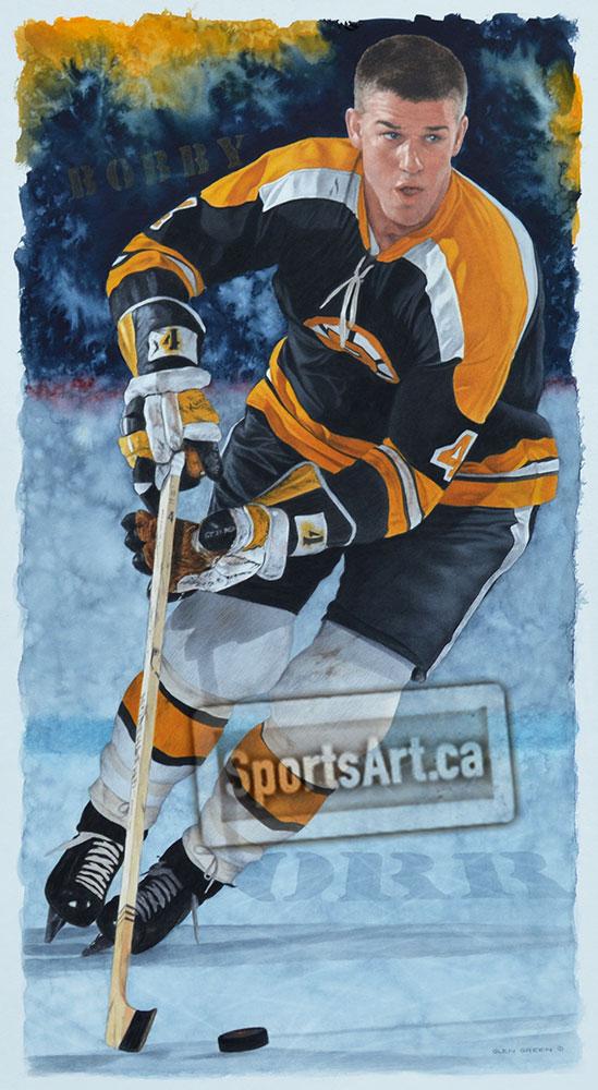 Bobby Orr Rookie Sports Art